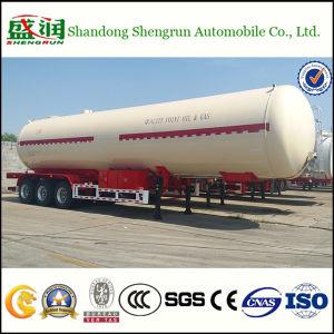 Autocisterna del rimorchio 30tons GPL del camion di serbatoio della strada del gas di GPL con ASME