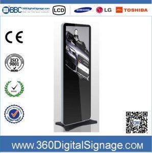 42 affissione a cristalli liquidi Indoor Advertizing Digital Signs di pollice 1080P Standing con Network 3gwifi per la Banca