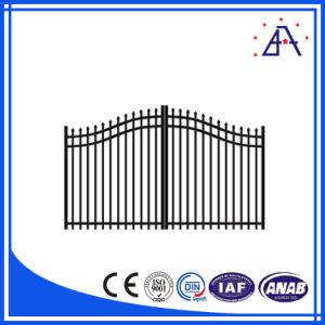 Cancelli di alluminio decorativi di alluminio anodizzati 6063-T5 di alta qualità