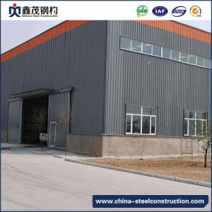 Estructura de acero modular de bajo costo para la construcción de taller y almacén
