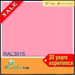 Elektrostatische thermostatoplastische Epoxid-Puder-Beschichtung des Polyester-Ral3015