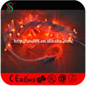 屋外のゴム製ケーブル赤いLEDの豆電球