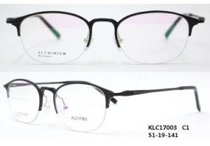 De klassieke Optische Frames van het Aluminium van de Manier (KLC17003)