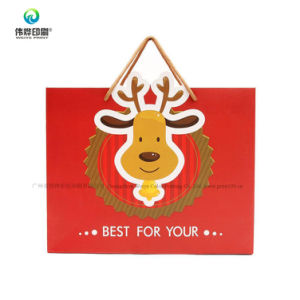 새해 동안 포장하는 주문 중국 대중적인 기쁨에 넘친 인쇄 선물 부대