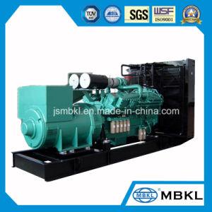 Moteur Cummins Diesel de type ouvert générateur de puissance 1000KW/1250kVA Kta50-G3