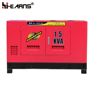 12kVA gerador diesel Arrefecidos a água silenciosa (GF2-12kVA)