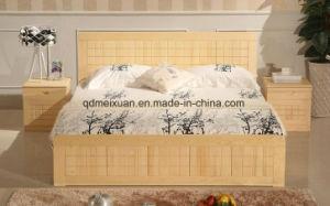 Festes hölzernes Bett-moderne doppelte Betten (M-X2314)