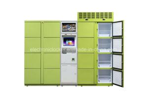 Edelstahl-elektronische Anlieferungs-Schließfach