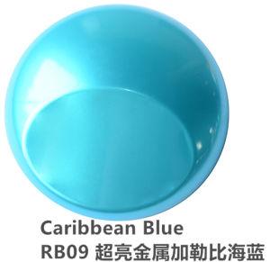 Omslag van de Kleuren van het meer de Blauwe Zelfklevende Auto Vinyl