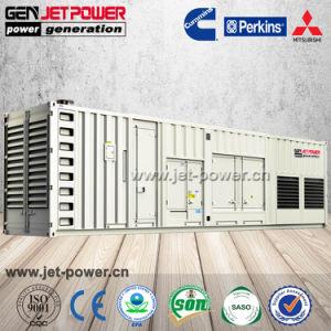 Тип контейнера цена 800 квт 1000ква бесшумный дизельный генератор