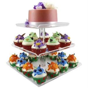 Cupcake acrílico es titular de la vertical de la pantalla Pastel de Navidad