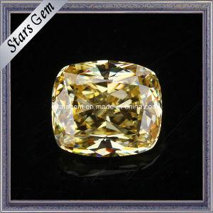 392037ab2f8a Amarillo diamantes sintéticos Cubic Zirconia anillos de piedra para ...