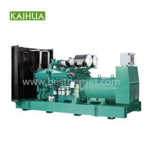 1000kVA/800kw Cummins 침묵하는 유형 디젤 엔진 발전기 세트