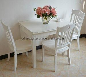 Твердый деревянный обеденный стол в гостиной мебели (M-X2370)