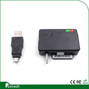 China Mobile Card Reader MCR02 IC EMV Card Reader Lector de tarjetas de audio de 3,5 mm