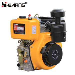 エアー・フィルタ(HR192FB)の黄色いカラーディーゼル機関