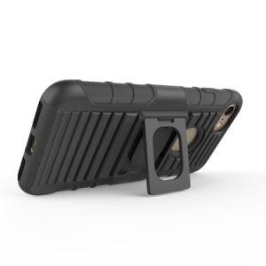 iPhone 7/8のための熱い販売の険しい装甲箱の細い電話保護装置ハイブリッドTPUのパソコンのコンボの箱