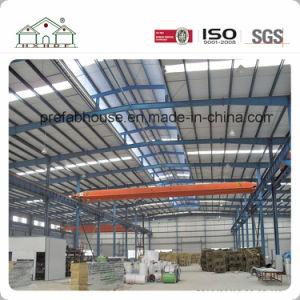 Taller de la estructura de acero prefabricados para la construcción de almacén para la industria