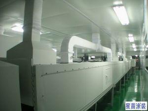 Linea di produzione del rivestimento con il workshop senza polvere