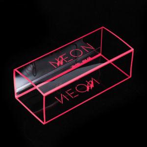 Mode Boîte d'impression en plastique transparent pour le rouge à lèvres à l'emballage
