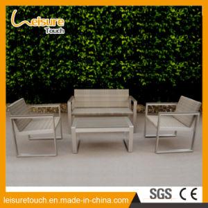 Novo design do jardim de venda quente Leisure Sofá definido usando o Hotel ou Pátio Sala de jantar em casa moderno mobiliário de exterior