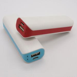 batería externa portátil colorido1500mAh a 3000 mAh (OM-PW019)