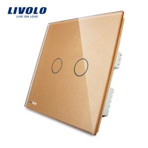 2018年のLivoloの贅沢な接触スイッチライト壁スイッチ(VL-C302-61)