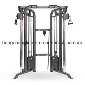 Máquina de ejercicios de fuerza body building Trainer entrenador funcional doble polea ajustable