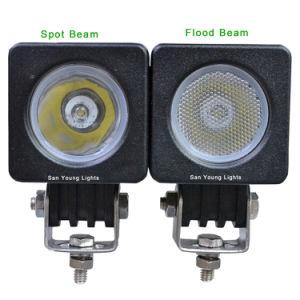 10W CREE LED Lampe phare de travail hors-route étanche pour une voiture d'éclairage du tracteur