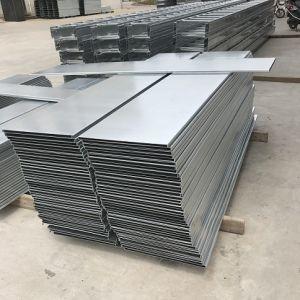 Bac à câble Type pont perforé galvanisé Acier inoxydable Alliage d'aluminium //Matériel en acier