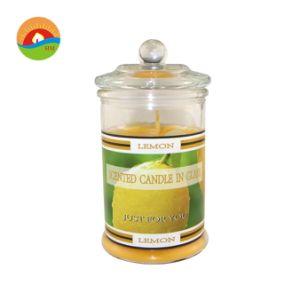 Coluna de vidro Flameless Luxury velas perfumadas