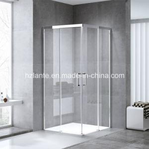 Ce verklaarde Europees Ontwerp de Vierkante Glijdende Cabine van de Douche van de Badkamers met Glas hardt (l5502-B)