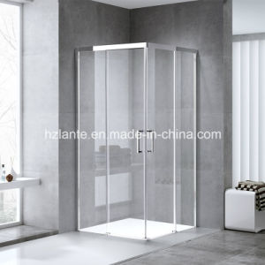 ヨーロッパデザインセリウムの証明(L5502-B)の正方形の滑走の浴室のシャワーの小屋