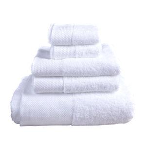 Badhanddoeken de van uitstekende kwaliteit van de Kleur 100% Katoen voor Hotel (DPF060805)