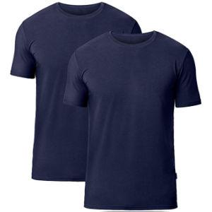 Della Cina di elezione di promozione a buon mercato della pianura maglietta personalizzata asciutta dello spazio in bianco della maglietta rapidamente
