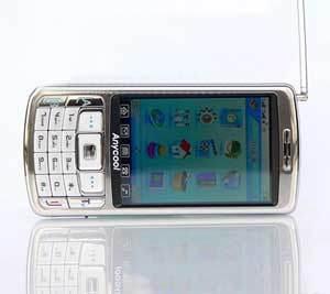 De Mobiele Telefoon van TV (T808)