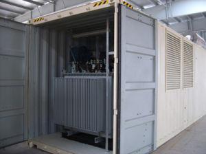tipo silenzioso generatore del contenitore 750kVA-1500kVA del diesel