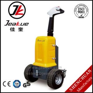 0.5-1 T die Elektrische Slimme Mini Gearticuleerde Slepende Tractoren lopen