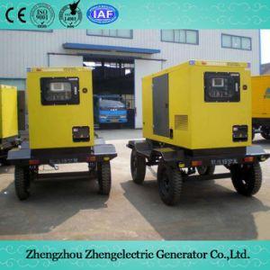 stille/Geluiddichte Mobiele Diesel van de Noodsituatie van de Container van de Aanhangwagen 20kVA-3000kVA 50/60Hz Weerbestendige ReserveGenerator