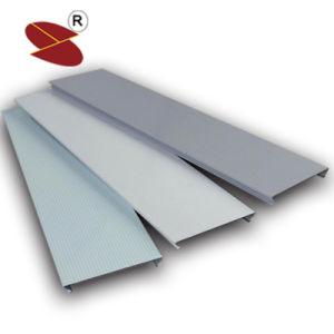 Materiale da costruzione di vendita della polvere del rivestimento del soffitto di alluminio a prova di fuoco caldo della striscia