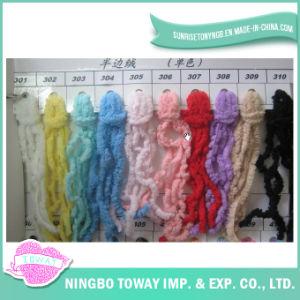 Gostavas de cor sólida lã acrílica de poliéster para tricotar meias