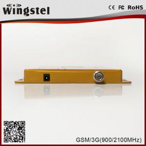 2018 de Nieuwe ModelSpanningsverhoger van het Signaal van de Band van de Repeater van het Signaal GSM/WCDMA Dubbele voor Cellphone van Gewicht