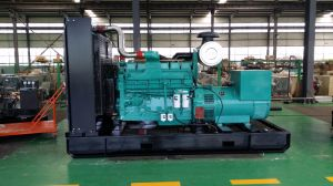セリウムの証明書が付いている低雑音の無声タイプ1000kwのディーゼル発電機セット