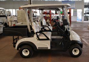 貨物ボックスが付いている実用的なゴルフカート