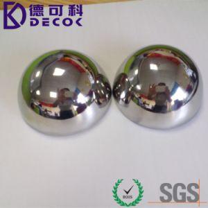 304 La mitad de la bola de acero de 50mm 60mm 63mm hemisferio hueco