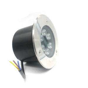 Outdoor Wasserdicht IP67 6W vertiefte LED Inground Step Light Deck Beleuchtung (12V 24V AC / DC 110V 220V warmes Weiß, kühles Weiß, gelb, grün, blau, rot, RGB-Farbe)