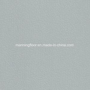 Zachte Binnen Lichtgrijze Multifunctionele VinylVloer van uitstekende kwaliteit 6.5mm van Sporten