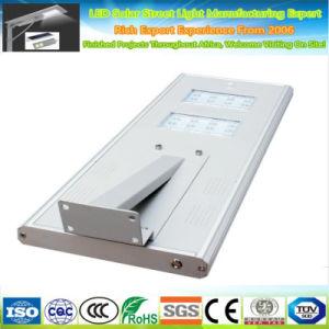 Resistente al agua 30W65IP integrada de energía solar todo en uno de los LED Luz solar calle Precio