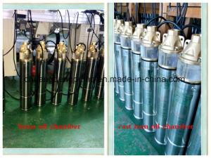 750W de la pompe de puits d'eau en acier inoxydable avec boîtier de commande