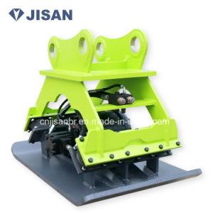 크롤러 또는 바퀴 굴착기 부착 유압 격판덮개 쓰레기 압축 분쇄기